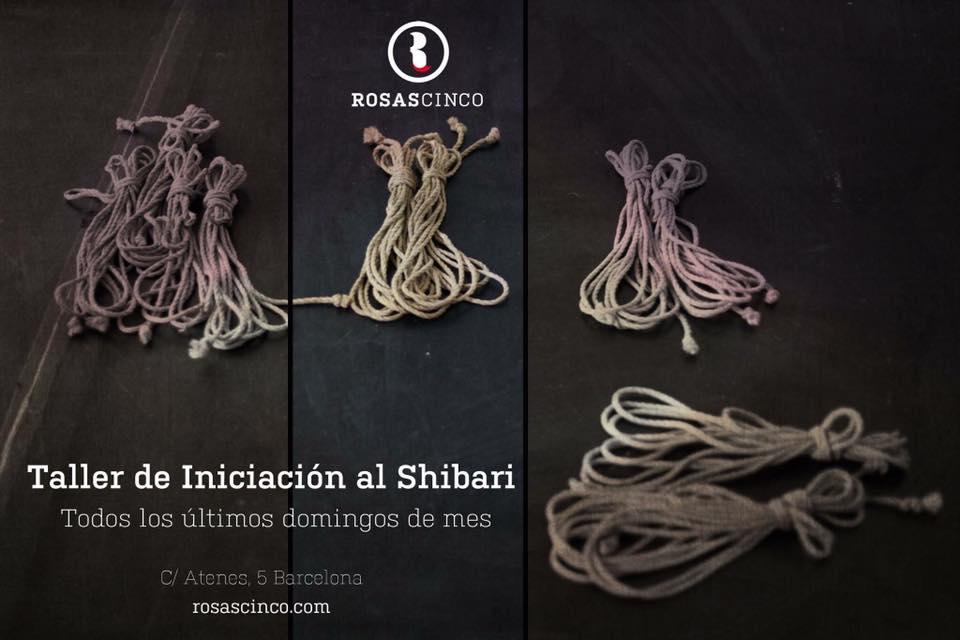 12. Taller de inciación al shibari en Rosas5 (Barcelona)