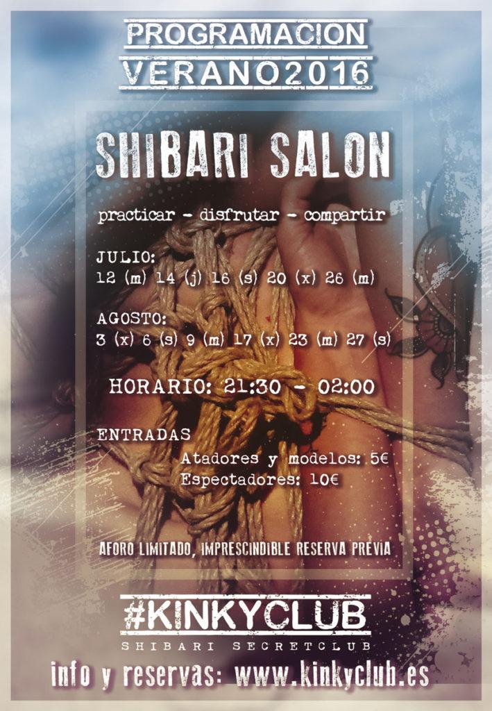 3 Shibari Salón en Kinky Club (Gijón)
